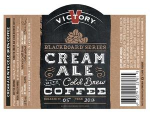 Victory Blackboard Cream Ale W/ Cold Brew Coffee