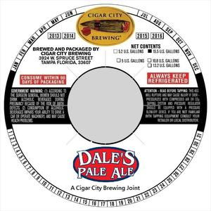 Cigar City Brewing Dale's Pale Ale
