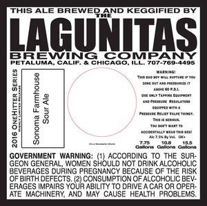 The Lagunitas Brewing Company Sonoma Farmhouse Sour