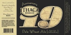 Ithaca Beer Company Anniversary Nineteen