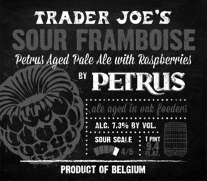 Trader Joe's Sour Framboise