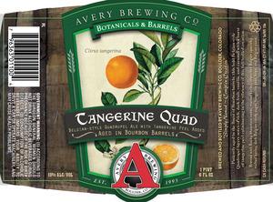 Avery Brewing Co. Tangerine Quad Belgian-style Quadrupel