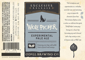 Odell Brewing Company Wolf Picker