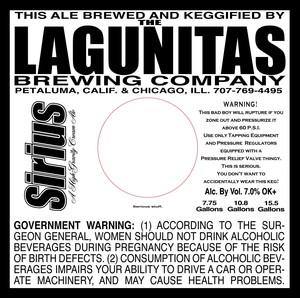 The Lagunitas Brewing Company Sirius