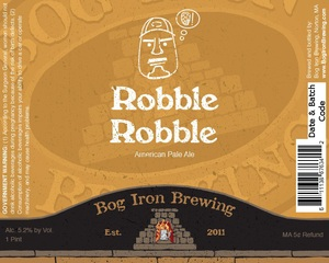 Bog Iron Brewing Robble Robble