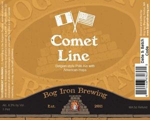 Bog Iron Brewing Comet Line