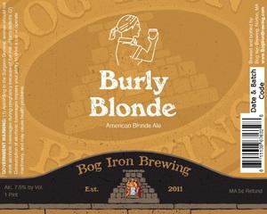 Bog Iron Brewing Burly Blonde
