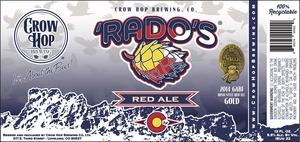 'rado's Red Ale October 2016