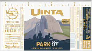 Uinta Brewing Company Park Golden Ale