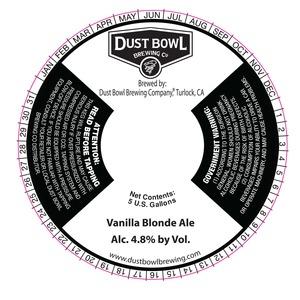 Vanilla Blonde Ale