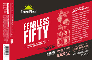 Green Flash Brewing Company Fearless Fifty