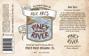 Piney River Brewing Co. Aux Arcs