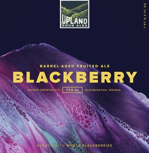 Upland Brewing Company Blackberry