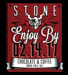 Stone Enjoy By Chocolate & Coffee Ipa
