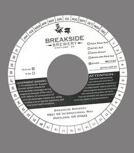 Breakside Brewery Will's Alt