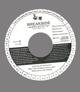 Breakside Brewery State Fair English IPA
