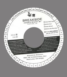 Breakside Brewery Rye Curious?