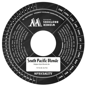 Widmer Brothers Brewing Company South Pacific Blonde