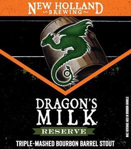 New Holland Brewing Company, LLC Dragon's Milk Reserve Triple Mash
