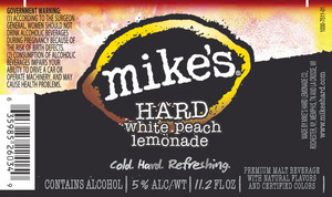 Mike's Hard White Peach Lemonade