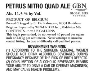 Petrus Nitro Quad Ale
