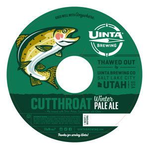 Uinta Brewing Co Cutthroat Winter Pale Ale