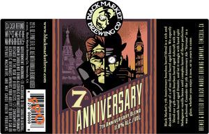 Black Market Brewing Co 7th Anniversary Blend