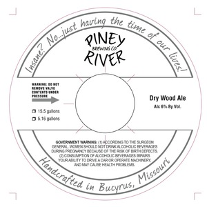Piney River Brewing Co. Dry Wood