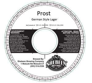 Shebeen Brewing Company Prost