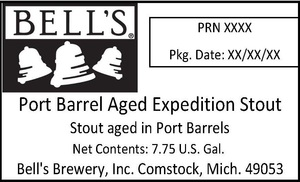 Bell's Port Barrel Aged Expedition Stout