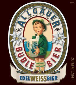 Allgauer Edelweissbier