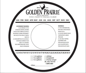 Golden Prairie Jolly Old Ale