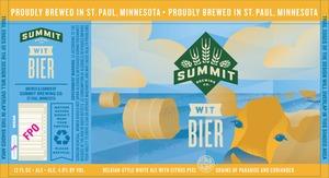 Summit Brewing Company Wit Bier