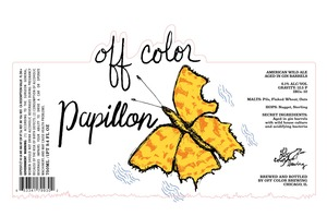Off Color Brewing Papillon