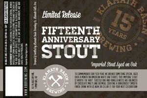 Klamath Basin Brewing Co. Fifteenth Anniversary