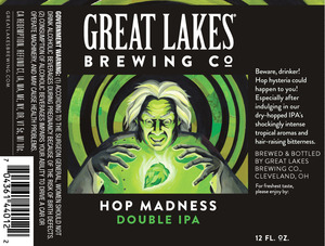 The Great Lakes Brewing Co. Hop Madness