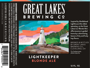 The Great Lakes Brewing Co. Lightkeeper