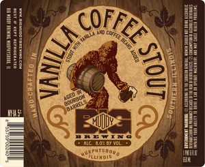 Big Muddy Brewing Vanilla Coffee Stout