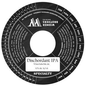 Widmer Brothers Brewing Co. Dischordant IPA