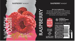 Wasatch Brewery Raspberry Wheat