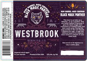 Westbrook Brewing Company Rum Barrel Aged Siberian Black Magic Pan