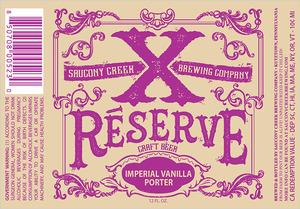 Xreserve Imperial Vanilla Porter