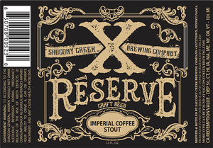 Xreserve Imperial Coffee Stout