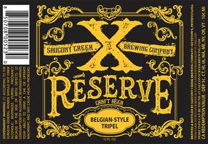 Xreserve Belgian-style Tripel