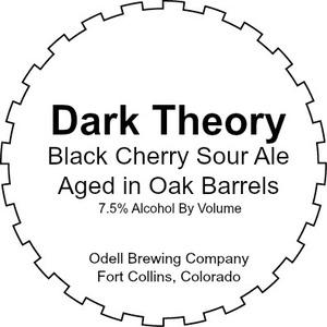 Odell Brewing Company Dark Theory