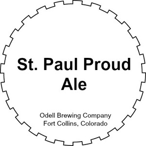 Odell Brewing Company St. Paul Proud