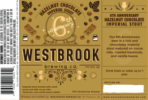 Westbrook Brewing Company 6th Anniversary November 2016