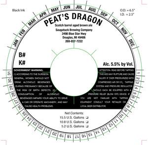 Saugatuck Brewing Company Peat's Dragon