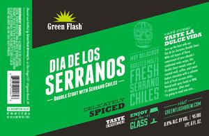 Green Flash Brewing Company Dia De Los Serranos