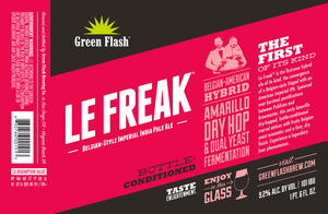 Green Flash Brewing Company Le Freak